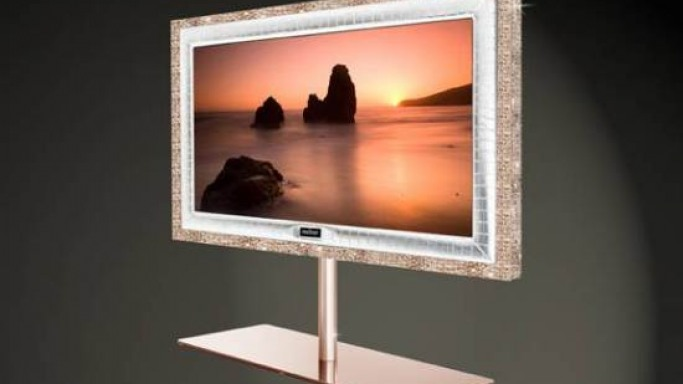 Stuart Hughes unveils most expensive TV sets