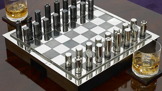 Ralph Lauren's Hammond collector chess set