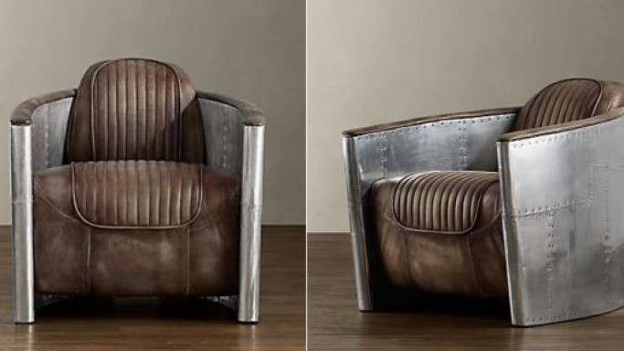 Timothy Oulton's Aviator Chair draws inspiration from bomber planes