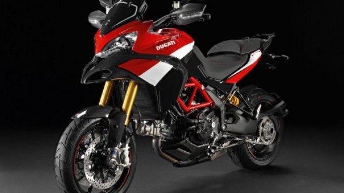 Ducati unveils the Multistrada 1200 S Pikes Peak Special Edition