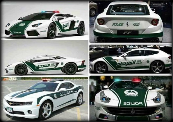Dubai Police Fleet of Supercars - Bornrich