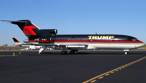 Donald Trump's $100 million private jet