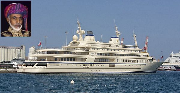 Al Said luxury mega yacht
