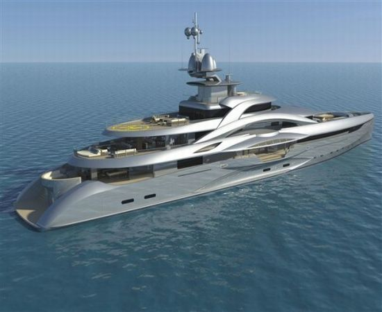 Mars Mega Yacht by Harrods costs $165 million