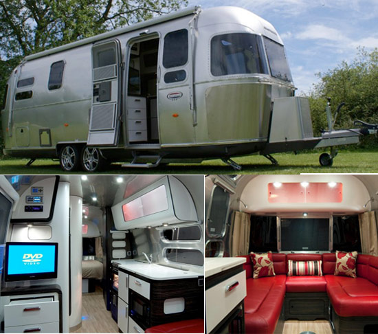 Airstream Series 2 luxury caravan