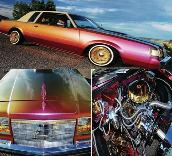 Buick 1984 Regal gold transformation