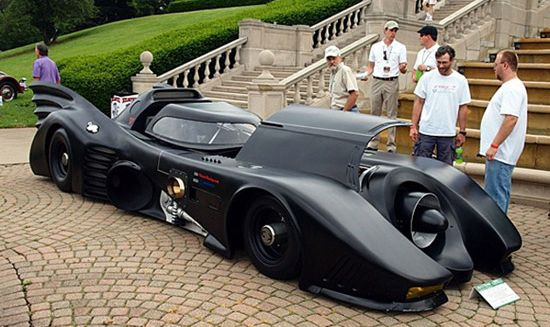 Batmobile powered by Turbines