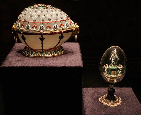 Faberge new collection of jeweled eggs for the discerning collectors