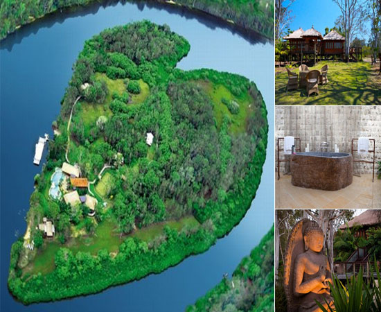 Luxury Getaways: Richard Branson's Makepeace island $8,000 a Night