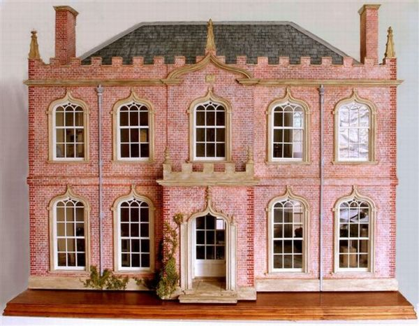 Classic English Gothick Dollhouse