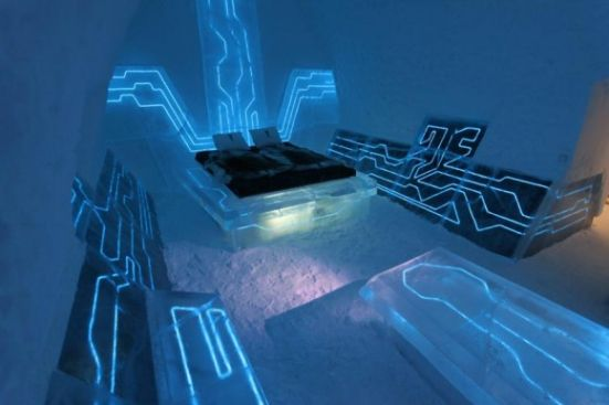 Tron Themed Hotel