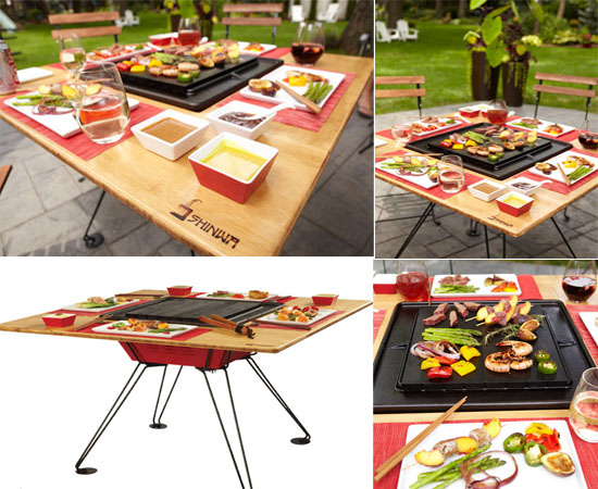 Hassle free outdoor cooking experience with Shinwa Grill