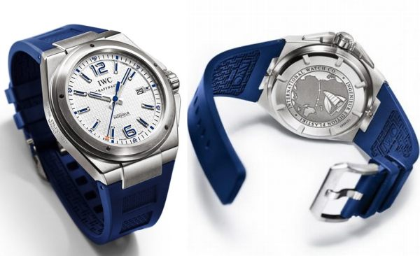 IWC Ingenieur Mission Earth Plastiki Edition