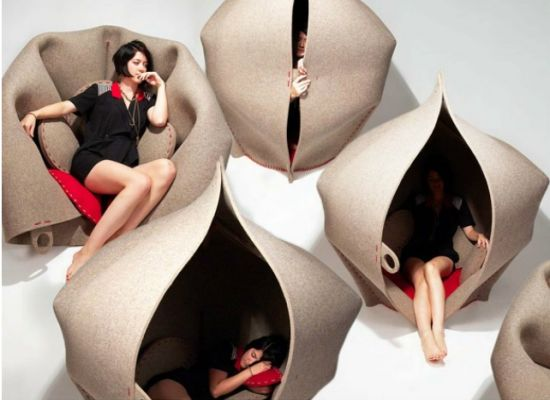 Hush: A perfect Privacy Pod for personal retreat