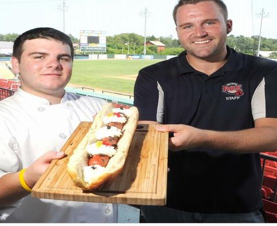The McMullen : World's most expensive hot dog reedy to set a world record
