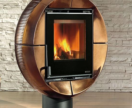 Carillon Fireball: A 90 degree rotating fireplace