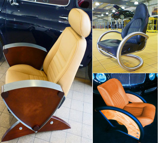 Chair by David Clark- The Veloce