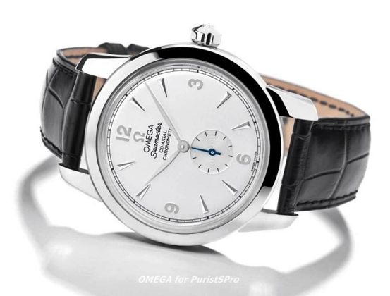 Watch from Omega- 1948 Co-axial London 2012 watch