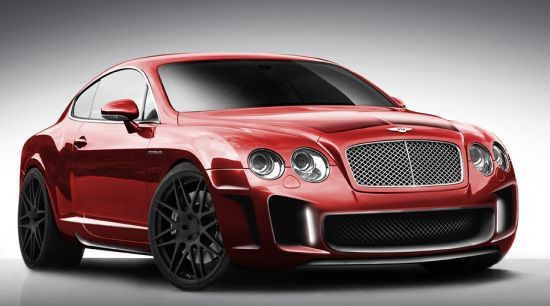 Customized Bentley Continental GT