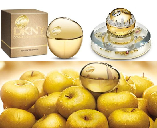The DKNY Million Dollar Perfume Bottle