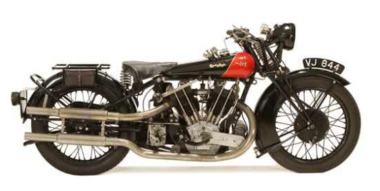 1928 Coventry Eagle Flying-8 OHV Bike