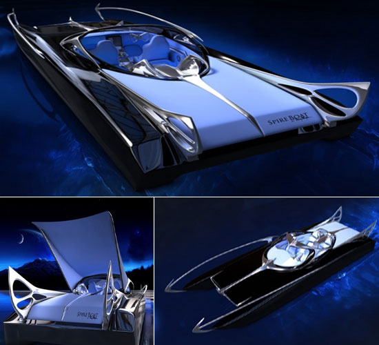 Thierry Mugler Spire Concept Boat