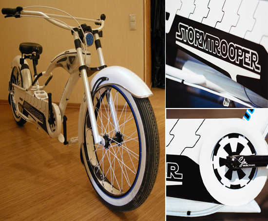 Stormstroppers Star Wars Bike 2