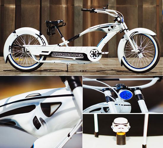 Stormstroppers Star Wars Bike