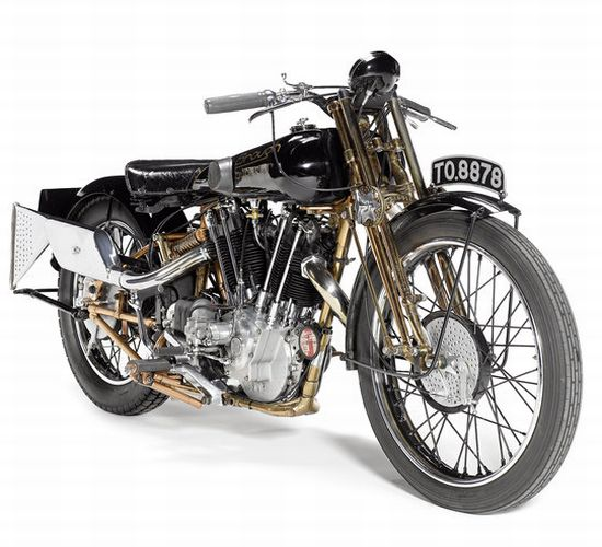 Moby Dick 1929 Brough Superior SS100