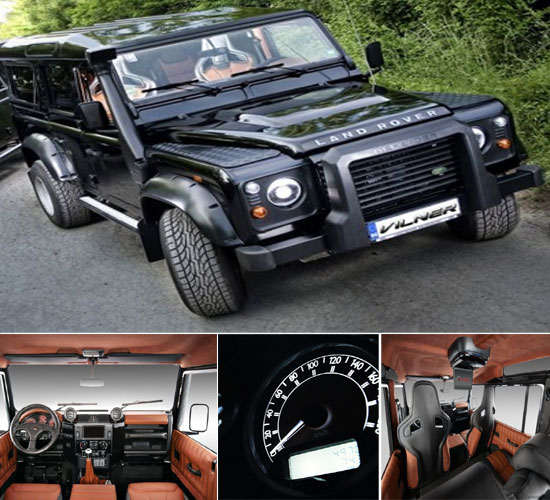 Vilner customised Land Rover
