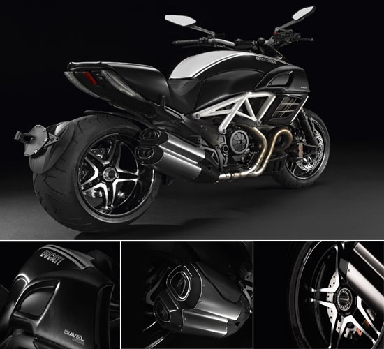 Dugati Diavel AMG limited edition bike