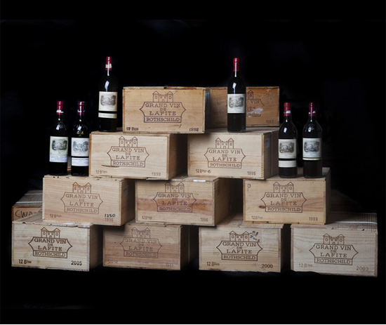 Chateau Lafite Rothschild wine auction