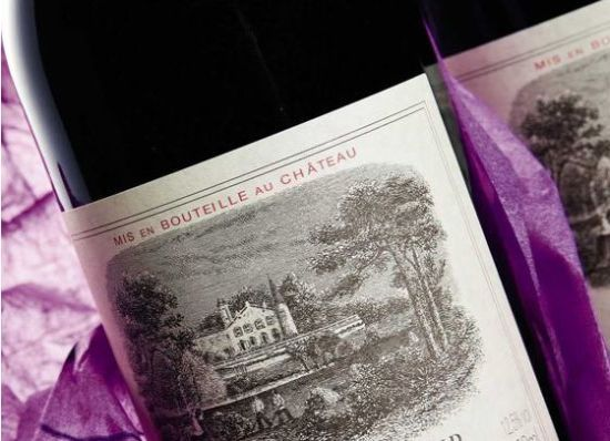 Chateau Lafite Rothschild wine bottle