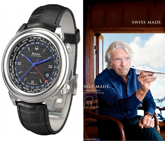 Bulova Richard Branson limited edition watch