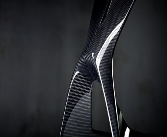 Carbon Fiber OLED table lamp