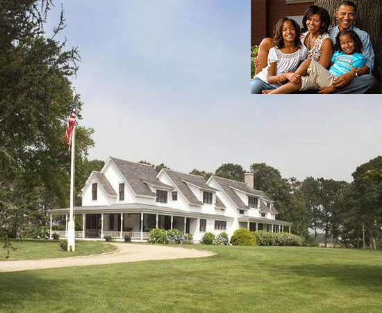 Obama's Martha's Vineyard on sale