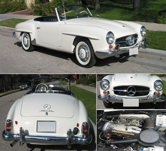 1959 Mercedes Benz 190SL Convertible
