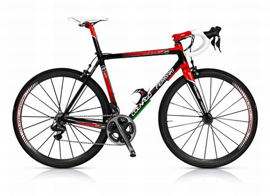Colnago teams up with Ferrari for limited edition bike