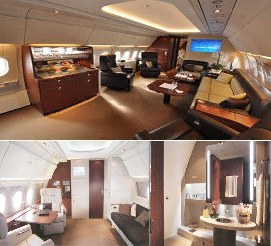 World's largest corporate jet cabin