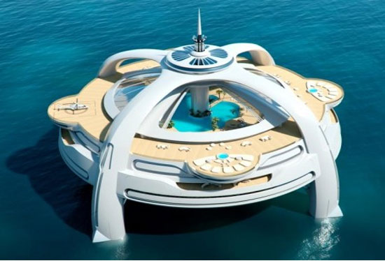 Project Utopia island yacht