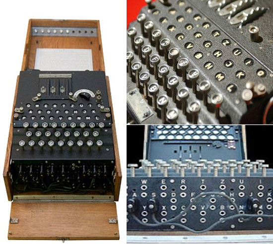 WW II Enigma encoder machine