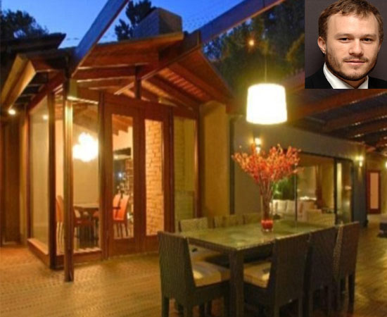 Heath Ledger's tree house up for sale
