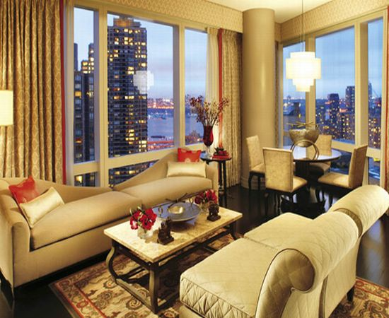 Image gallery luxury hotel rooms nyc for Nyc most expensive hotel