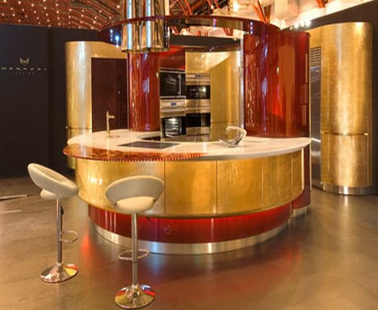 World's most expensive fitted kitchen design by Marazzi Design