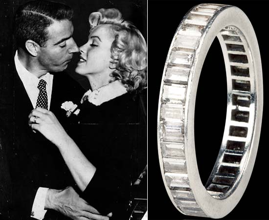 Marilyn Monroe's wedding ring to be auctioned