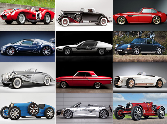 Most expensive cars sold at auctions