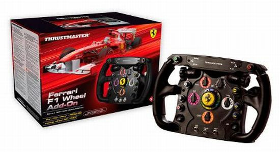 Thrustmaster Ferrari F1 gaming steering wheel