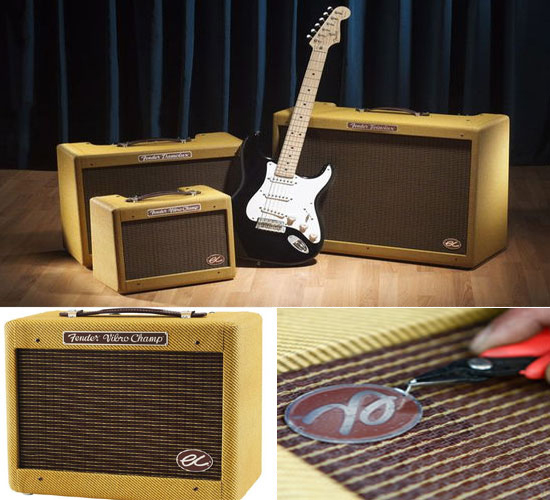 Fender EC Series guitar amplifiers