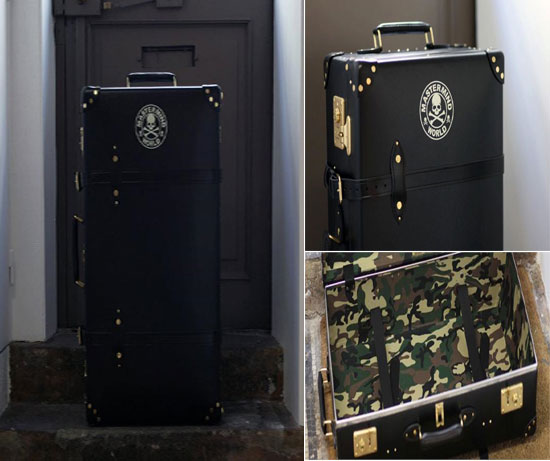 Globe Trotter Mastermind limited edition suitcase