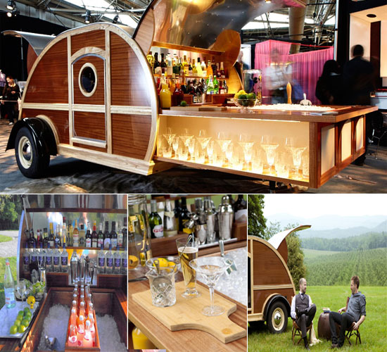 Great American Woody Caravan Bar